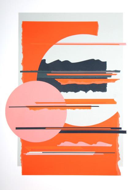 Colette Vermeulen, Tangerine Sunset, 2019