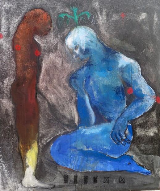 Sadikou Oukpedjo, Nouvelle mythologie #4, 2019