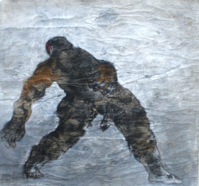 Sadikou Oukpedjo, Réponse à Courbet, 2018