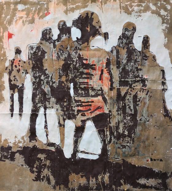 Armand Boua, La go Antou dans le gbonhi, 2019