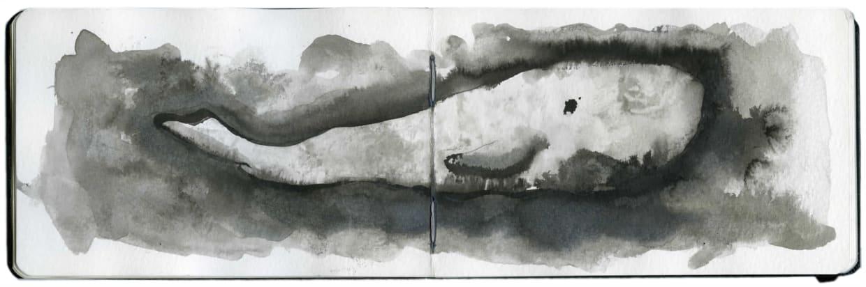 Yo-Yo Gonthier, La Baleine Nuage #1, 2012