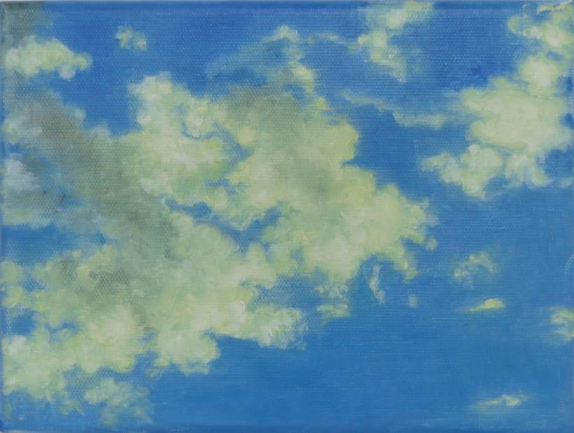 Dalila Dalléas Bouzar, Untitled #6, série Ciel, 2019