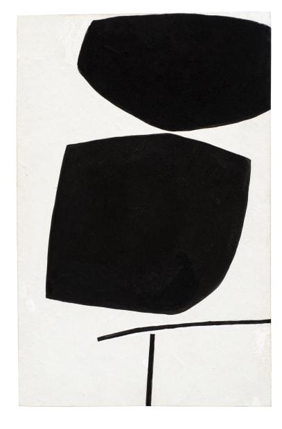 Victor Pasmore, Black Image, 1984