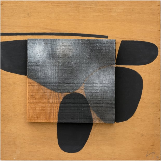 Victor Pasmore, Points of Contact: Black image, 1976