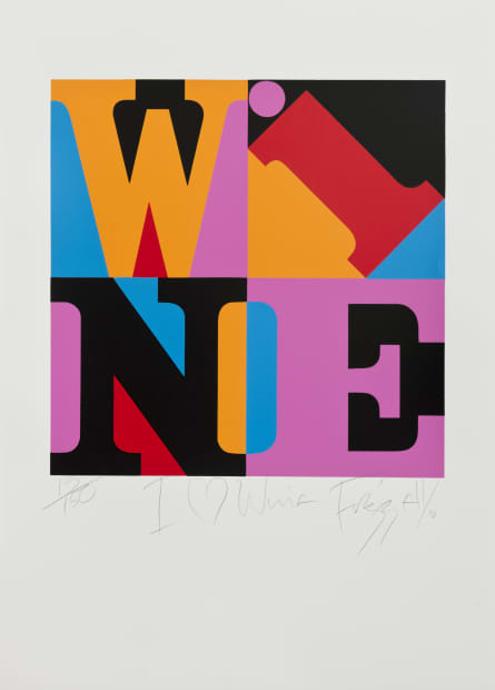 Dick FRIZZELL, I Love Wine, 2010