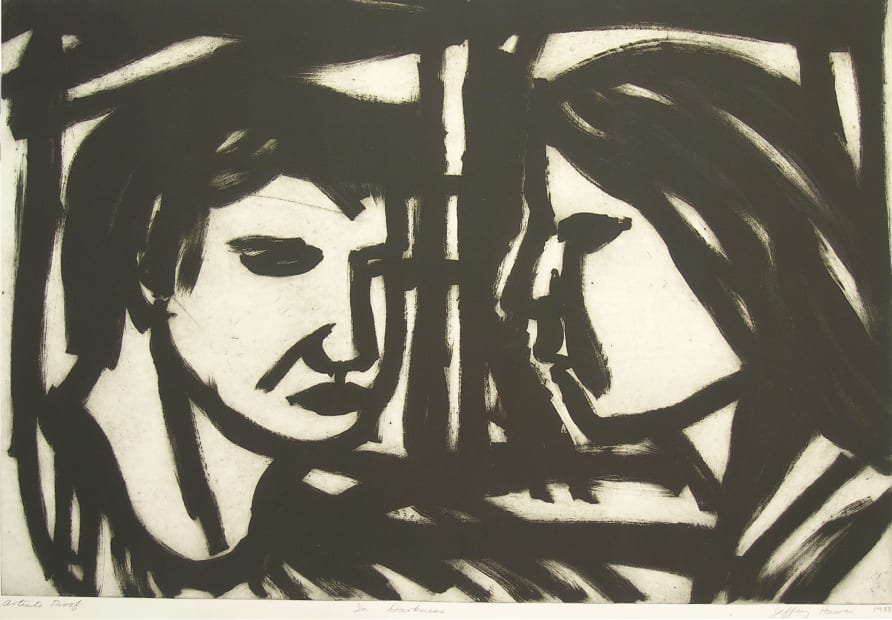 Jeffrey Harris, In Darkness, A/P, 1988