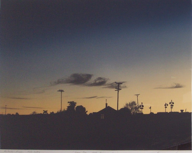 Grahame Sydney, New Day, State Highway One, A/P, 2004