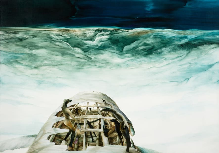John WALSH, The Black Legged Navigator (unframed), 2014