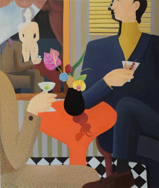 GaHee Park, Smoking Room, 2018