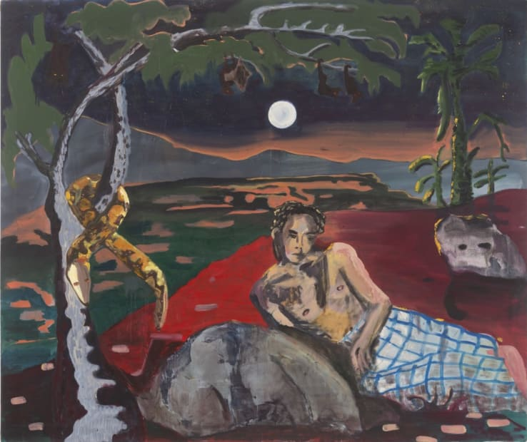 Maia Cruz Palileo, Lover at Woodland Creek (Bat's Land), 2018