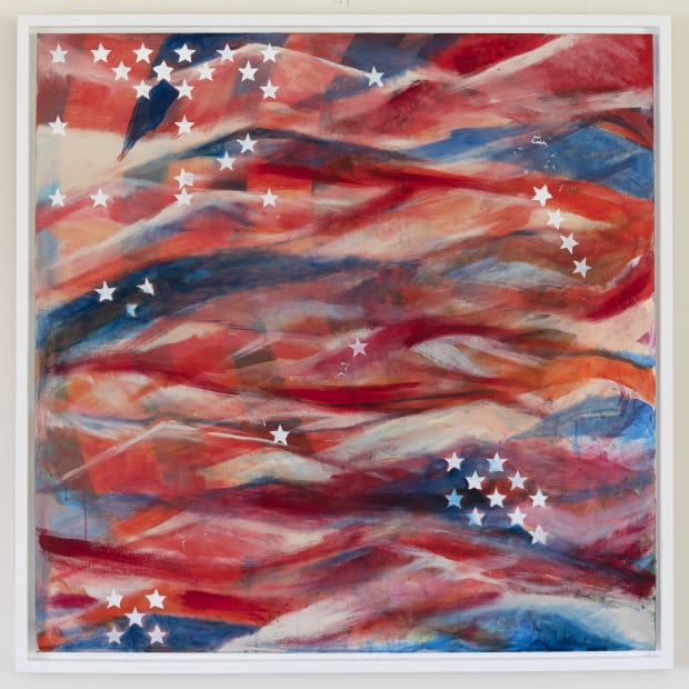 Stars and Stripes (print), 2018