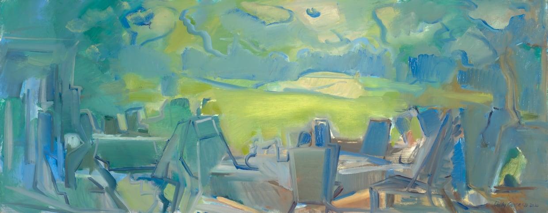 Lindy Guinness, Déjeuner sur l'herbe, 2020