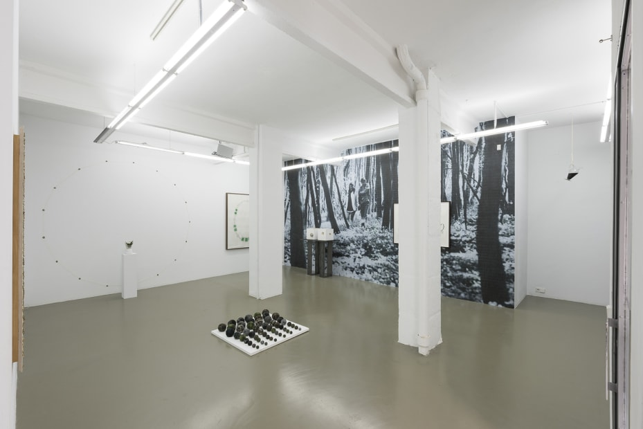 Installation View of 'Aurora Borealis | Fata Morgana' at Maisterravalbuena, Madrid