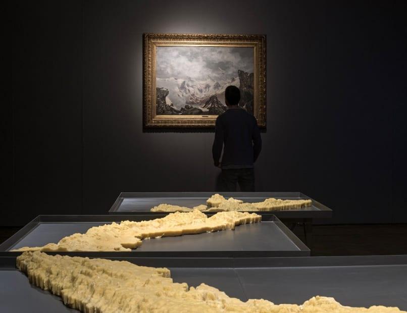 Installation view from the exhibition, 'El Tercer Paisaje' at the Museo Nacional de Bellas Artes, Santiago, 2019