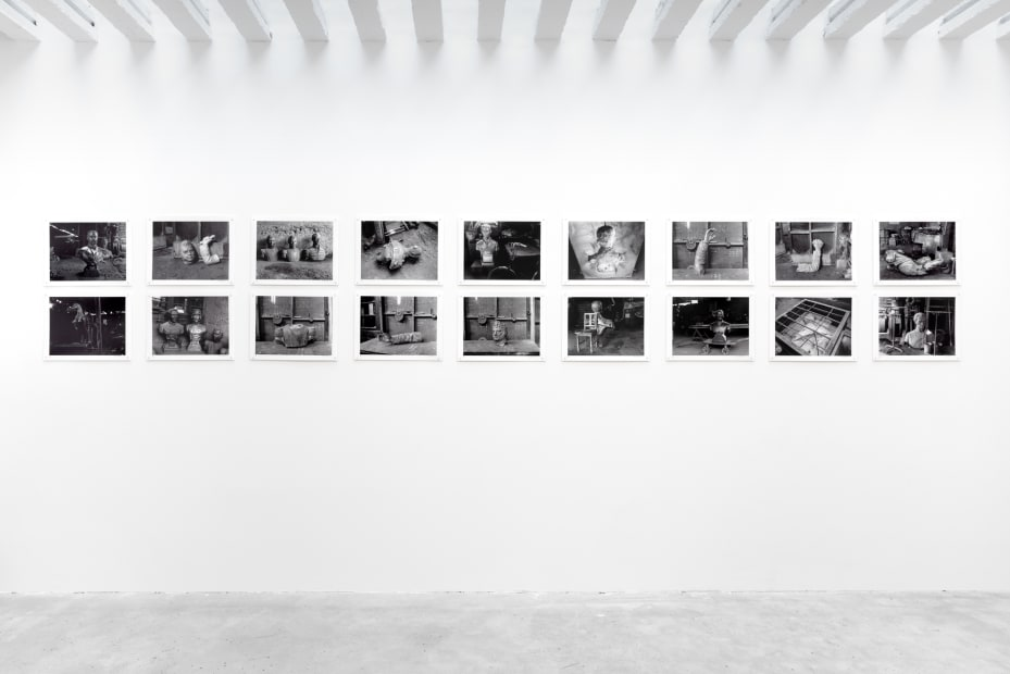 Installation View of Cecilia Brunson Projects Viewing Room Exhibition 'Paz Errázuriz: Próceres [National Heroes]', 2020