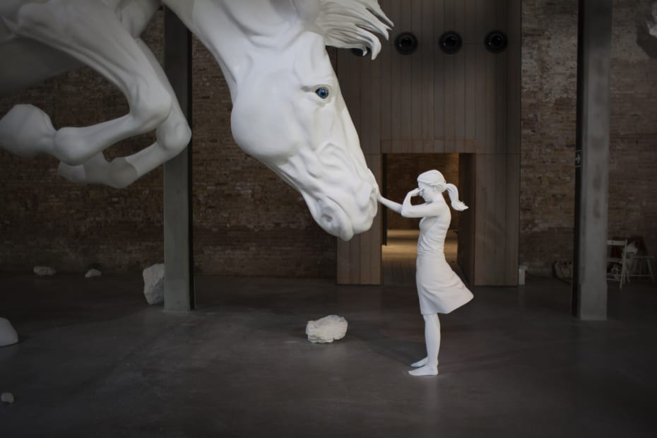 The Horse Problem, Installation at the Argentina Pavilion, Biennale Arte 2017, La Biennale di Venezia, Italy