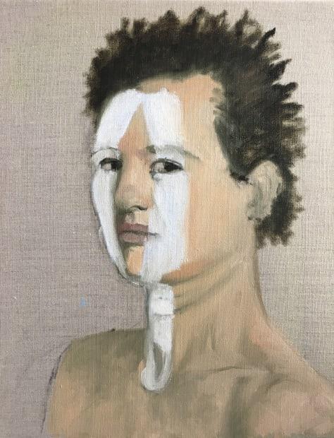 Dalila Dalléas Bouzar, Autoportrait #3, 2018