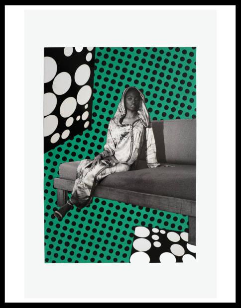 Vincent Michéa, N°01, série Fatou Pompidou, 2017