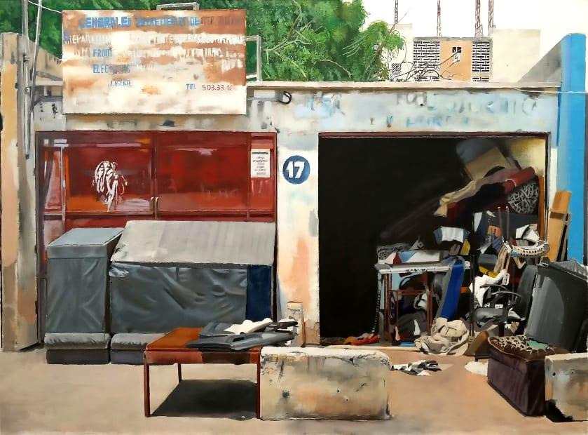 Cheikh Ndiaye, Atelier Tapissier Mamadou Ndiaye, Sicap, 2017