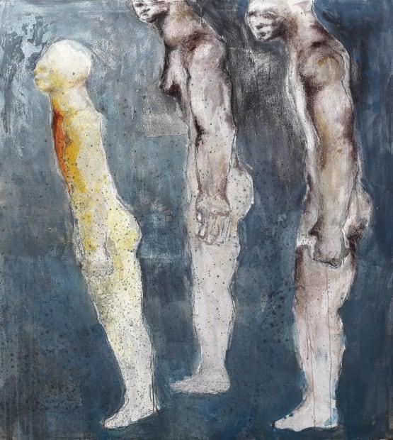 Sadikou Oukpedjo, Les héritiers de Dieu #2, 2019