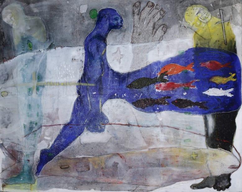 Sadikou Oukpedjo, Nouvelle mythologie #9, 2019