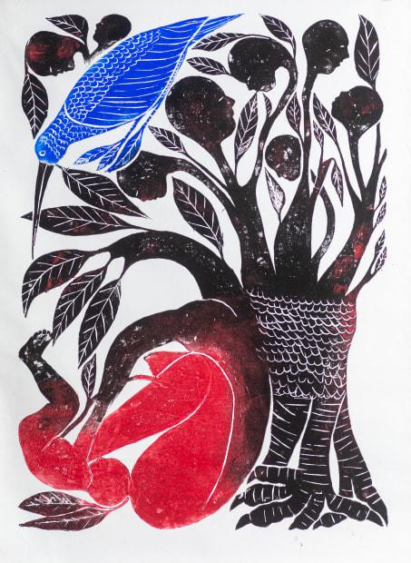 Jems Koko Bi, Le Chant du Colibri II, 2020