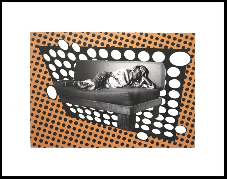 Vincent Michéa, N°10, série Fatou Pompidou, 2017