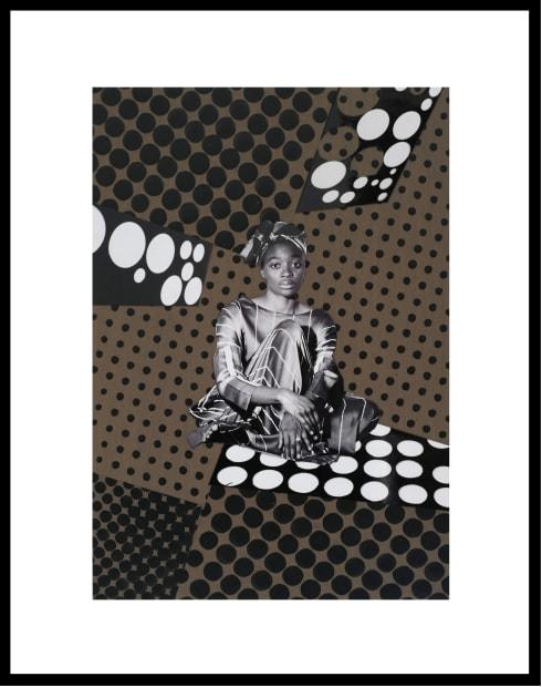 Vincent Michéa, N° 21, série Fatou Pompidou, 2017