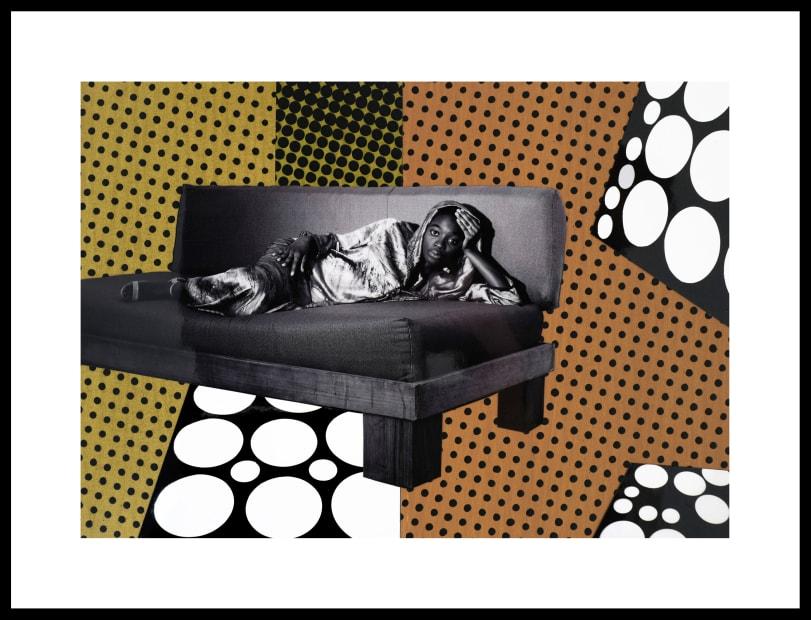 Vincent Michéa, N° 23, série Fatou Pompidou, 2017