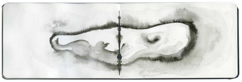 Yo-Yo Gonthier, La Baleine Nuage #3, 2012