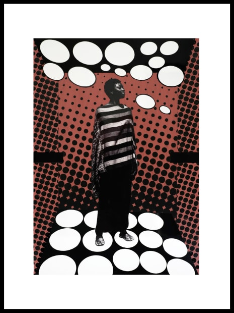 Vincent Michéa, N°20, série Fatou Pompidou, 2017