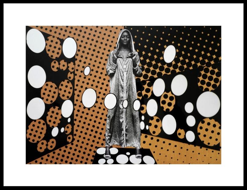 Vincent Michéa, N°07, série Fatou Pompidou, 2017