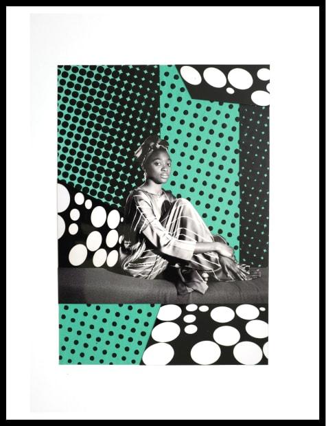 Vincent Michéa, N° 03, série Fatou Pompidou , 2017