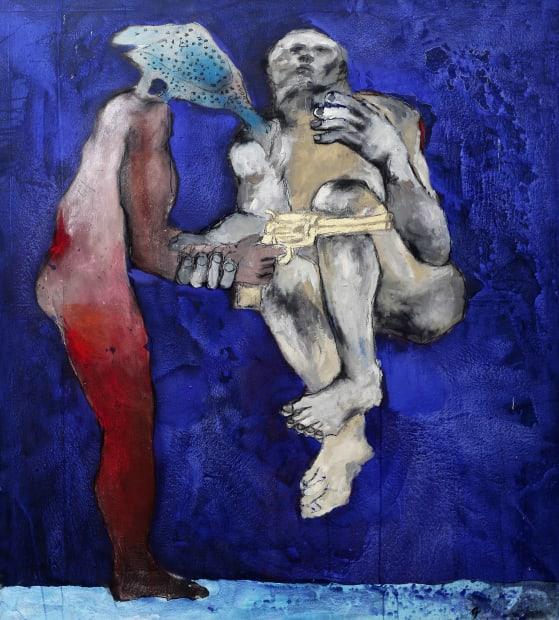 Sadikou Oukpedjo, Nouvelle mythologie #2, 2019