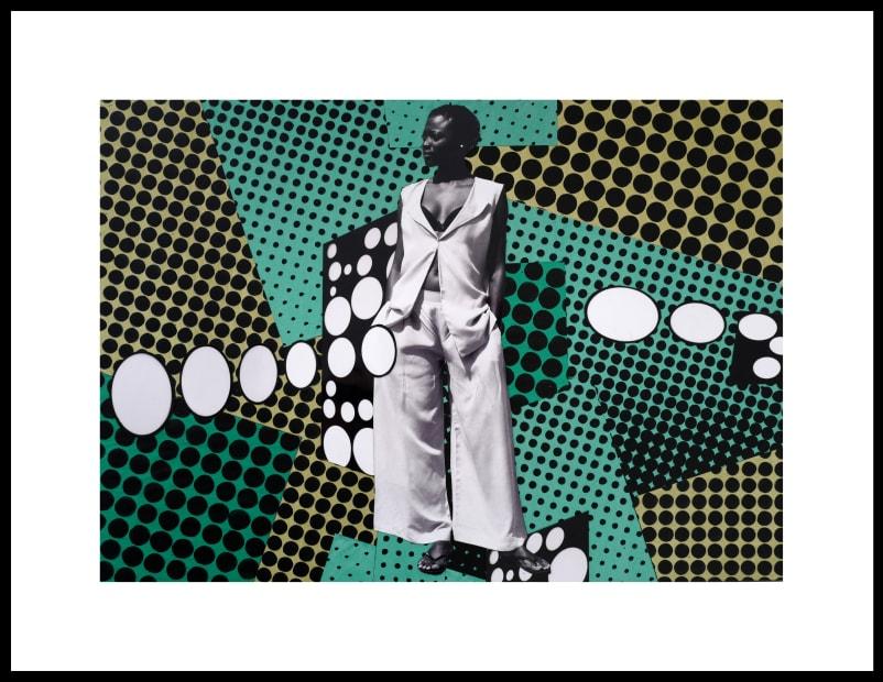 Vincent Michéa, N°13, série Fatou Pompidou, 2017