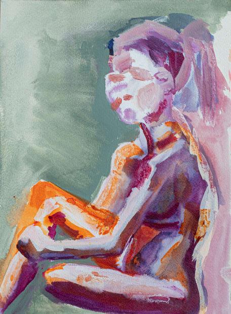 Agnes Waruguru, Margaret Sitting III, 2016