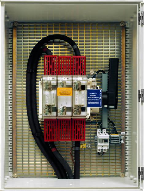 Tableau électrique n°1, Ministère des finances, Paris, 2010