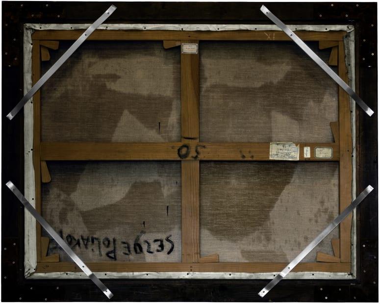 Verso n°48, Composition, par Serge Poliakoff, collection du musée des beaux-arts de Lyon, 2012