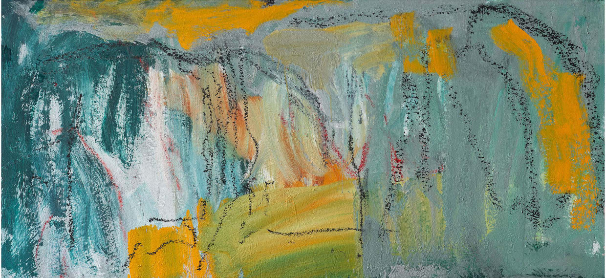 Christian Sorg, Arcy, chemin des grottes II, 2020