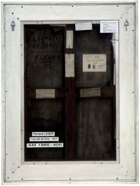 Verso n°16, Les toits de Paris, par Fernand Léger, collection Centre Pompidou, Paris, 2007
