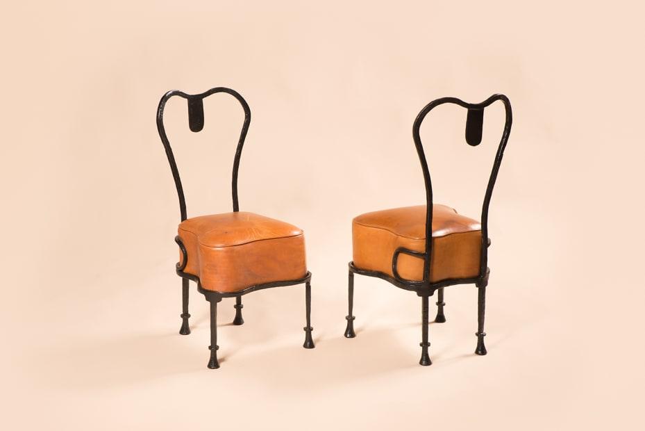 """Chaise """"Osselet"""" / """"Osselet"""" chair"""