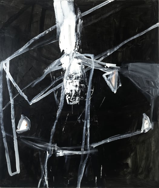 "MAREK SZCZESNY, Untitled, ""Hommage to Samuel Beckett"", 2019"