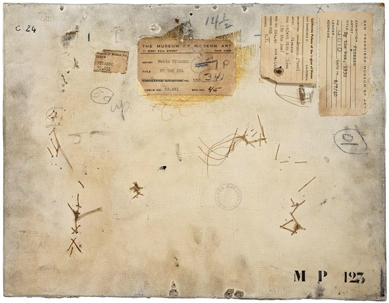 Verso n°52, Composition au gant, par Pablo Picasso, collection Musée national Picasso-Paris , 2016