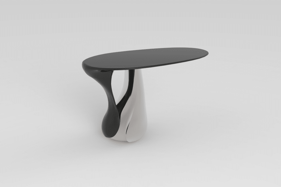 Console Leaf (nickelée), 2013