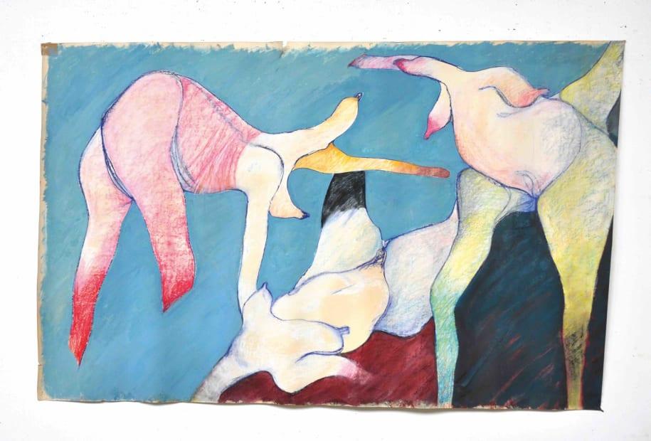MONIQUE FRYDMAN, La ronde, 1976