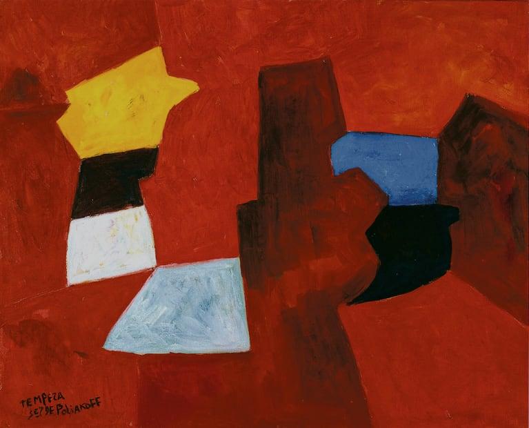 Serge Poliakoff, Composition abstraite, 1966