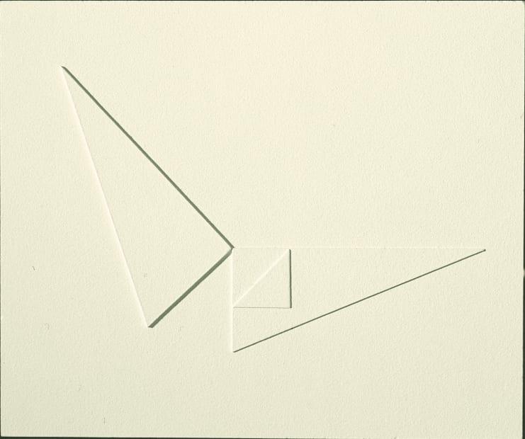 Arturo Bonfanti, Rilievo 349, 1968