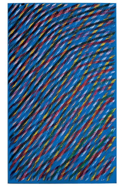 Piero Dorazio, artificio, 1984