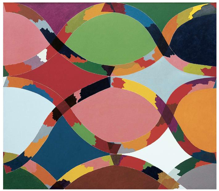 """Piero Dorazio, """"Ideal I"""", 1968"""