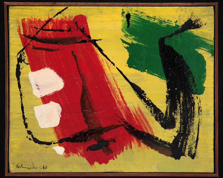 Gerard Schneider, Opus 7 H, 1967